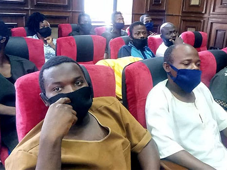 'Just In' DSS releases eight Sunday Igboho's aides
