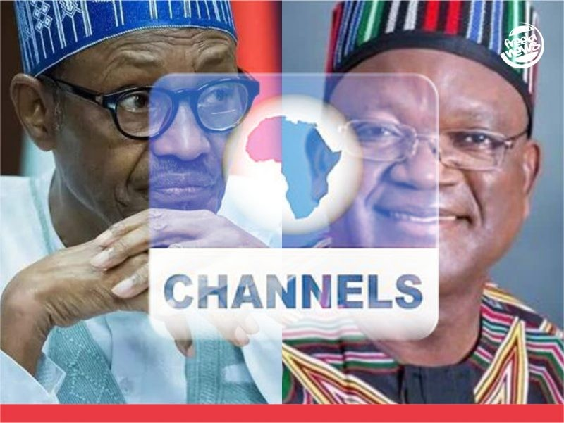 'It's anti-Buhari' FG questions Channels over Ortom's interview, may sanction station