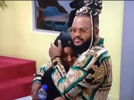 'I should be upset, not you' WhiteMoney comforts Queen, condemns housemates for eviction nomination