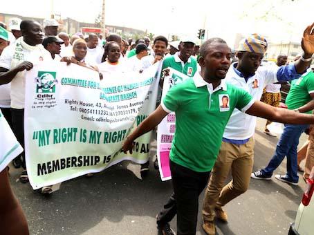 'Constitutional breech' Ag President sues Falana, Obayuwana