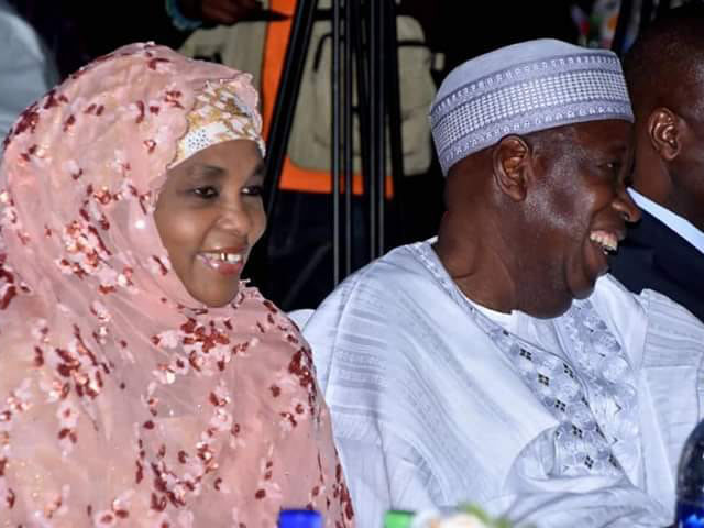 'Superior?' Ganduje's wife declines EFCC invitation over bribery allegations by son