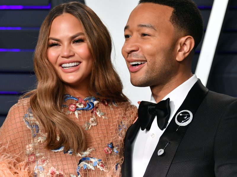 'I love you forever' American star singer, John Legend, celebrates wife, Chrissy Teigen, on their wedding anniversary