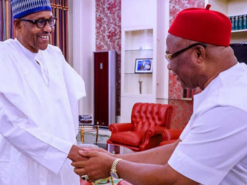 'Buhari in Imo' Owerri residents comply with sit-at-home IPOB's order as Nigerian president visits