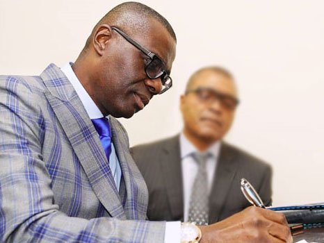 'Official!' Lagos state governor, Sanwo-Olu signs VAT bill into law