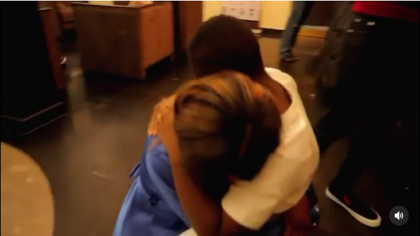 'Roller coaster of emotions!' Jackie B reunites with her son, Nathan breaks down in tears (Video)