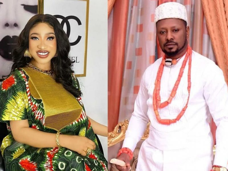 'Busted!' Tonto Dikeh's ex-lover, Prince KpoKpogri, reportedly arrested by DSS over alleged blackmail