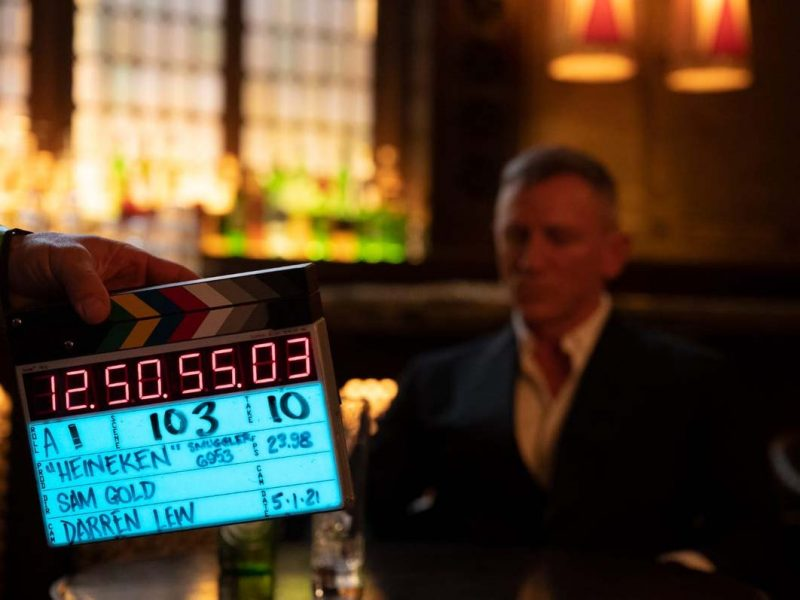 'Worth the Wait' Heineken finally teams up with Daniel Craig to celebrate release of No Time To Die (Video)