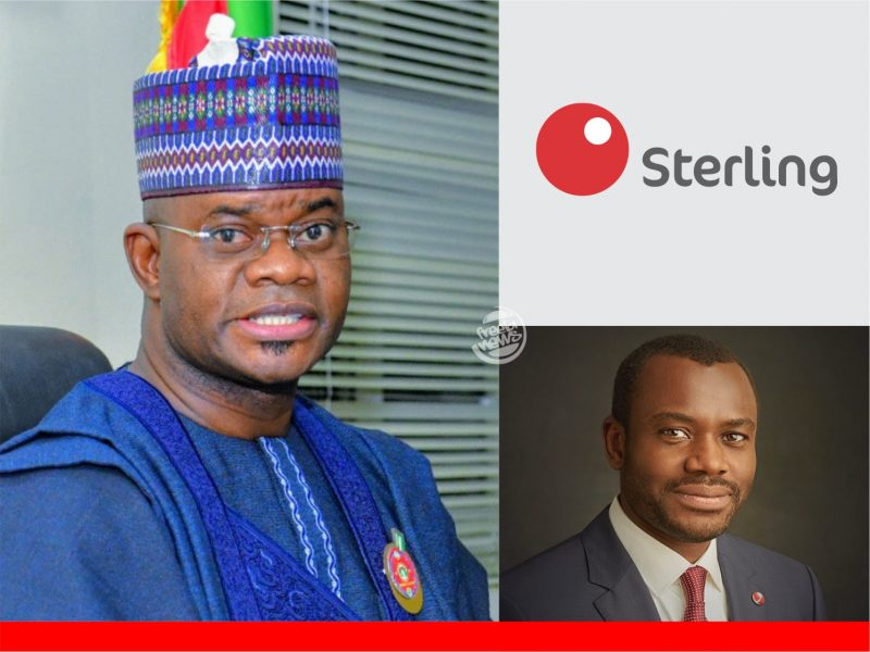 'N20bn bailout loan' Yahaya Bello, Sterling Bank collude to divert intervention fund