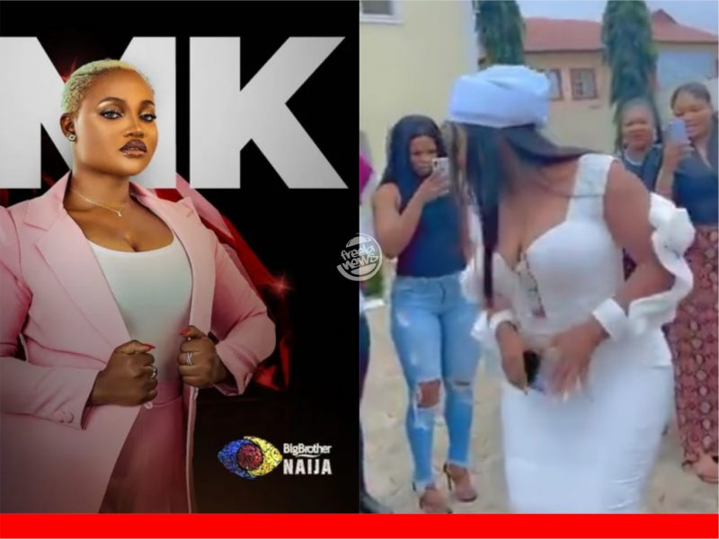 'Ilorin ati ode, 5 and 6' Nigerians react as parents celebrate evicted BBNaija housemate homecoming (Video)