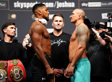 'Re-match!' Anthony Joshua re-fight against Oleksandr Usyk set to take place in March