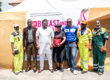 'W Initiative' Access Bank marks breast cancer Awareness month for Lagos waste handlers