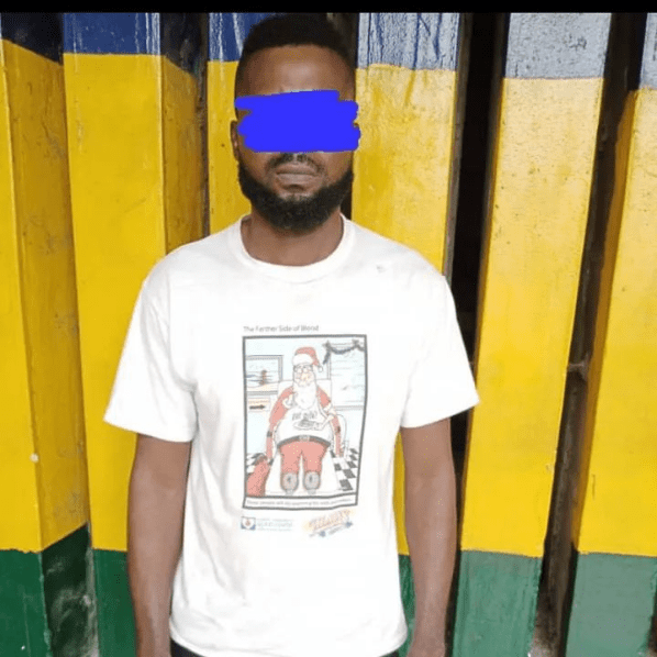'Apprehended!' Police arrests man, 32, after raping neighbor's 13 year-old daughter