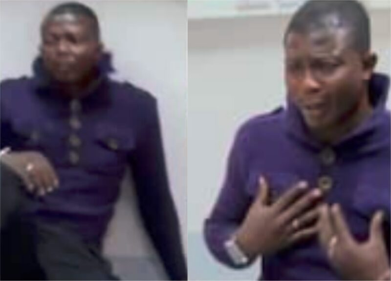 'Drama!' Nigerian man begs not to be deported over death scare, insists he his 15 years-old, cries like baby